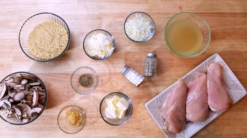 Slow Cooker Chicken Recipe ingredients