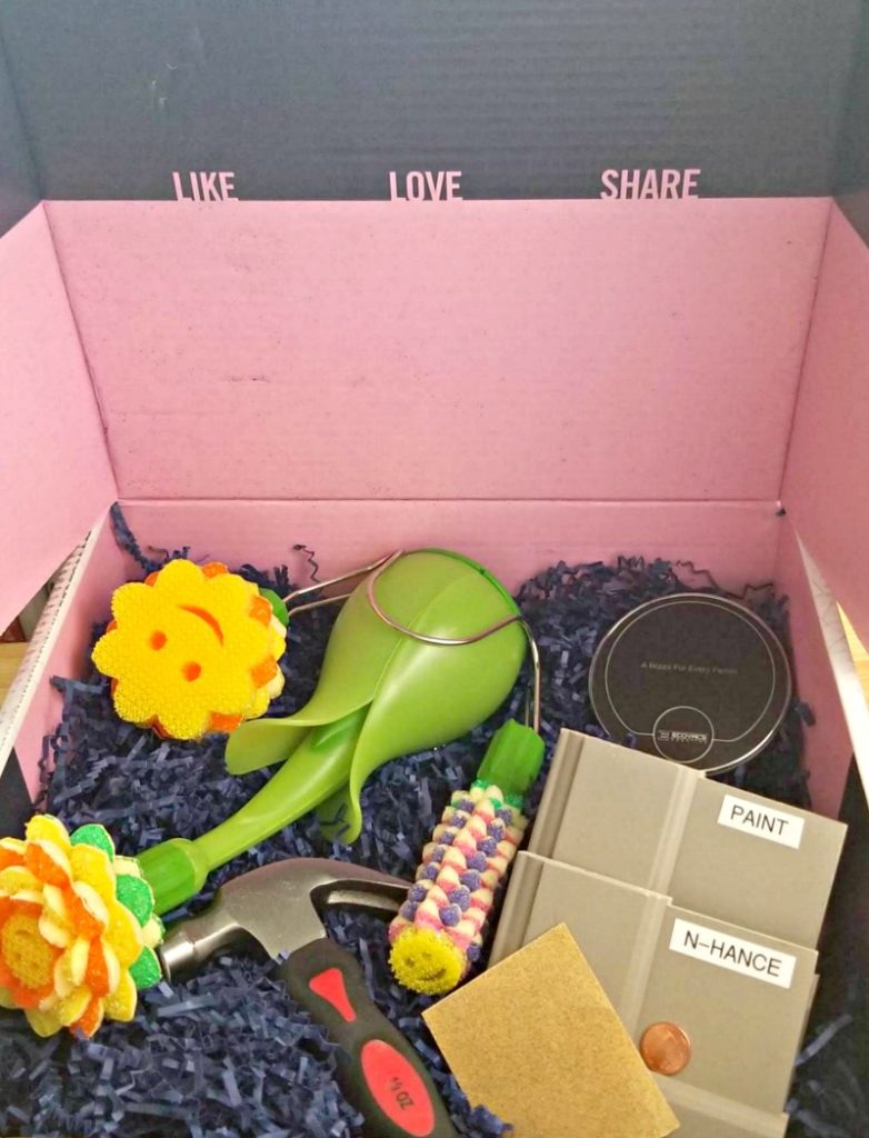 BabbleBoxx Home Shape Up For Spring box