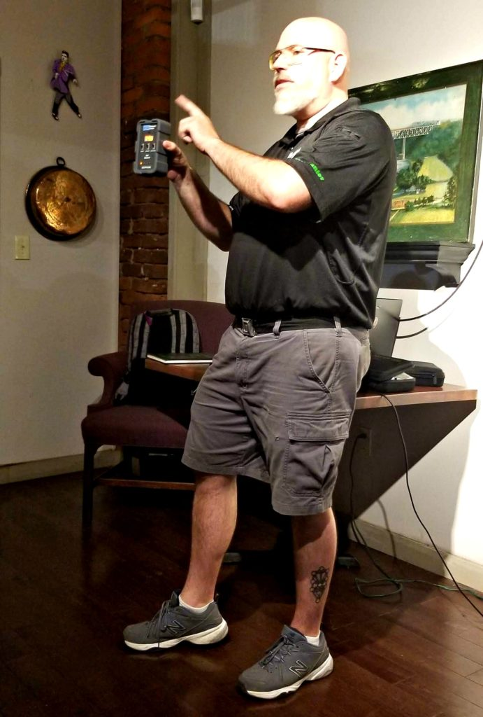 Be A Paranormal Investigator On The Haunted Knoxville Ghosts Tours tools