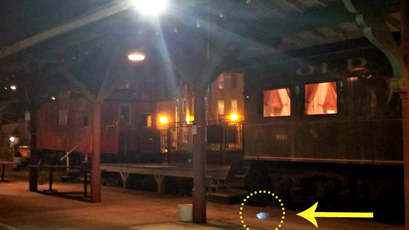 Be A Paranormal Investigator On The Haunted Knoxville Ghosts Tours orb