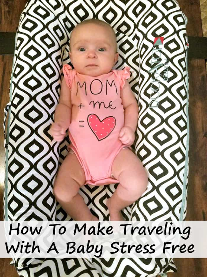 With the holidays around the corner, parents are wondering how to make traveling with a baby stress free. Here is a list of innovative baby gear that do just that! #ad @dockatot