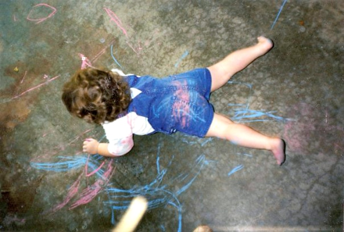 How To Recognize and Develop Milestones In Your Toddler chalk