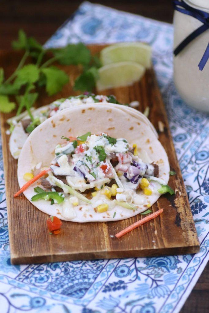 Chipotle Marinade Carne Asada Street Tacos Recipe pin1