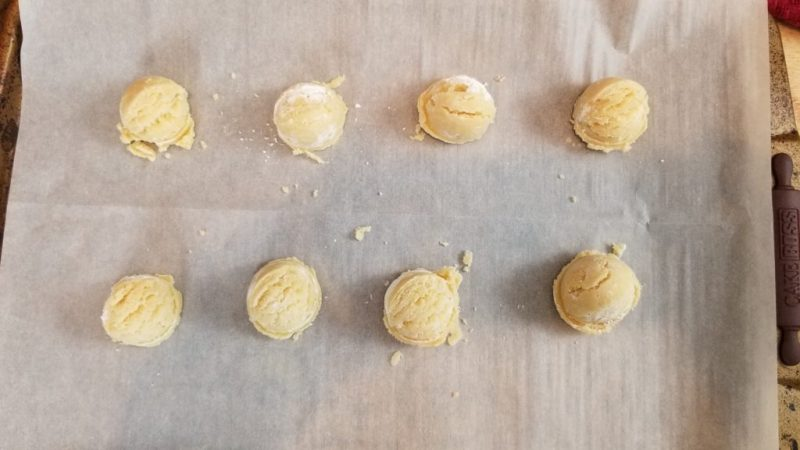 Chocolate Mint Keto Shortbread Cookies Recipe Step 13