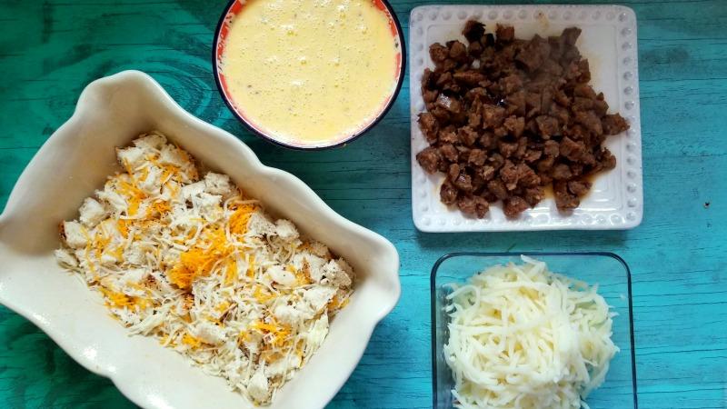 Everything Bagel Breakfast Casserole Recipe Steps 6-9