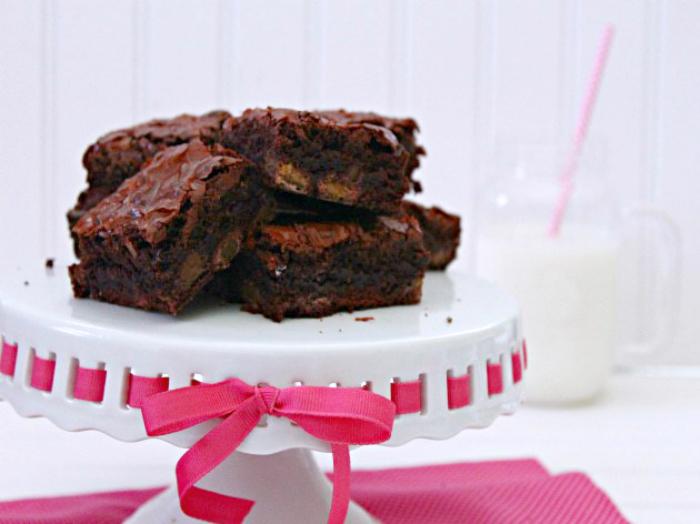 M&M Red Velvet Brownies Recipe 2