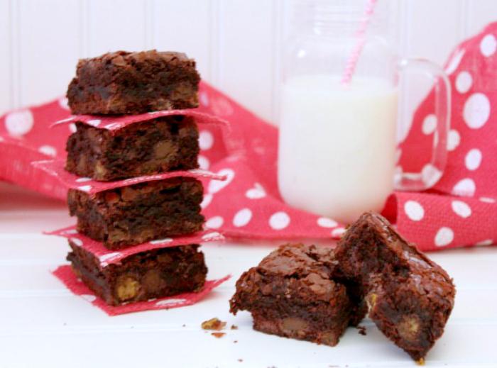 M&M Red Velvet Brownies Recipe