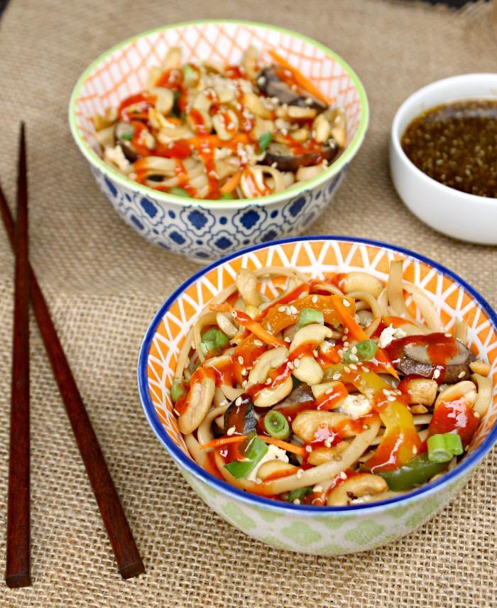 30 Minute Vegetarian Spicy Thai Noodles Recipe 2
