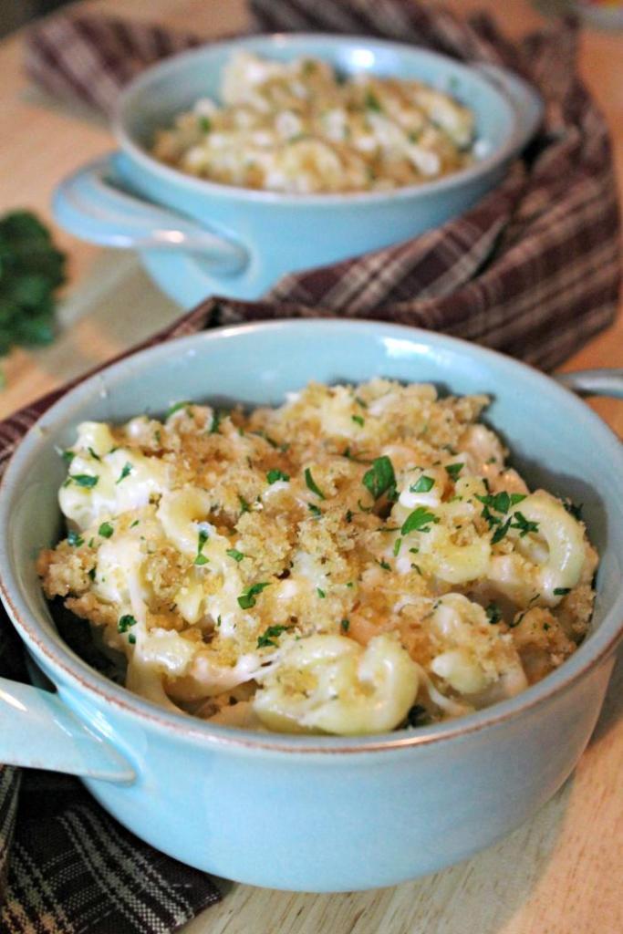 Creamy Tuscan Microwave Macaroni And Cheese 5
