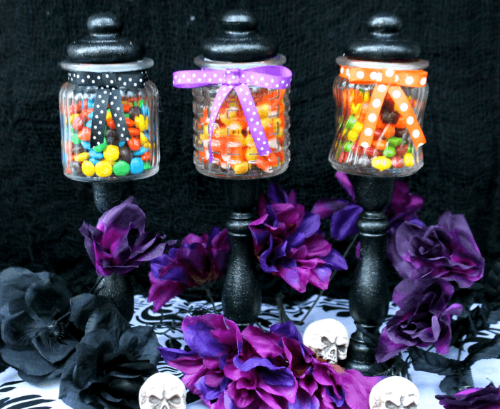 DIY Halloween Candy Jar Craft candy