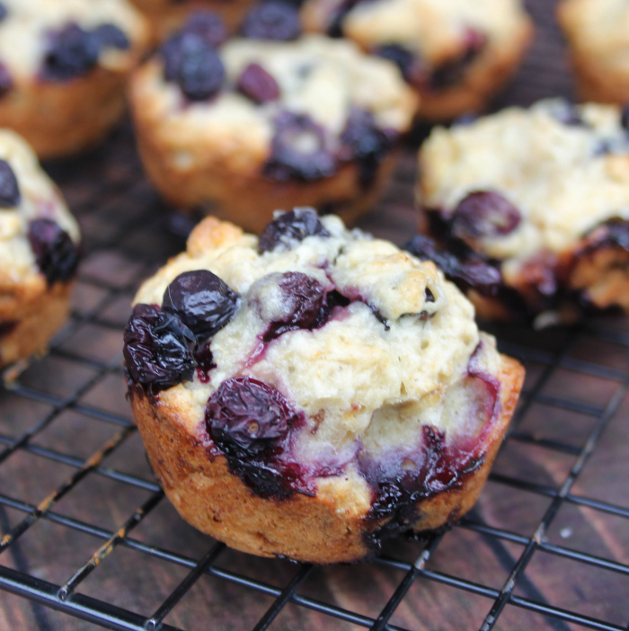Blueberry-Banana Oat Breakfast Muffins step 8