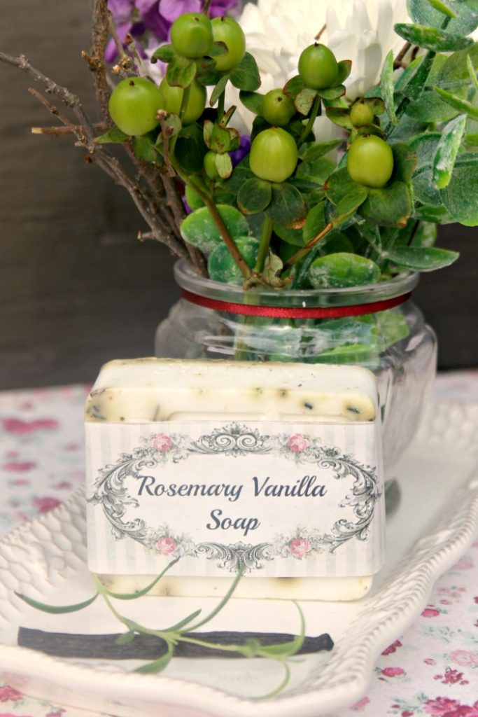 Rosemary And Vanilla Goats Milk Soap Recipe