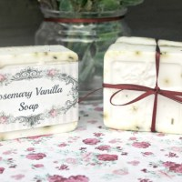 DIY Rosemary And Vanilla Goats Milk Soap Recipe + Free Printable