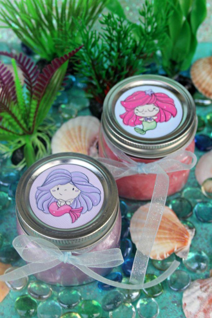 Homemade Shimmery Mermaid Slime Recipe For Kids