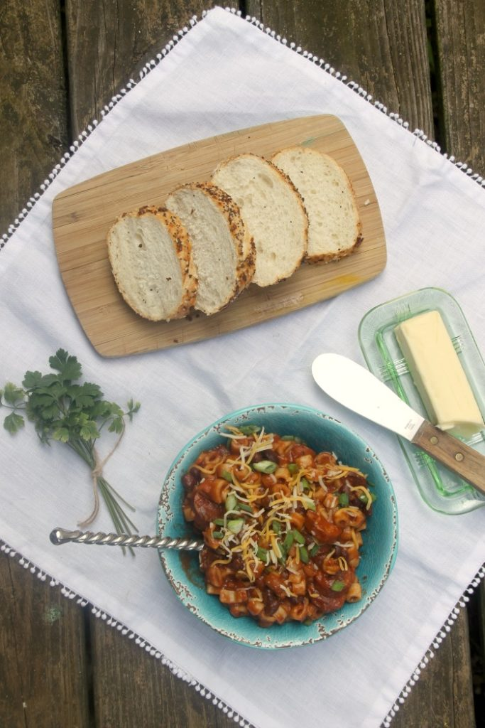 Spicy Crock Pot Sausage, Bean And Pasta Soup 3