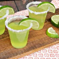 Top Shelf Lime Margarita Jello Shots Recipe