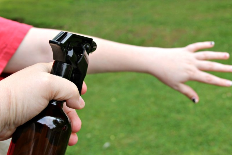 DIY Essential Oils Bug Repellent Spray Ingredients