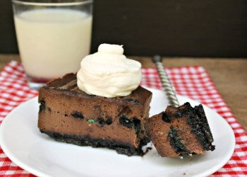 Double Chocolate Mint Oreo Cheesecake Recipe 2