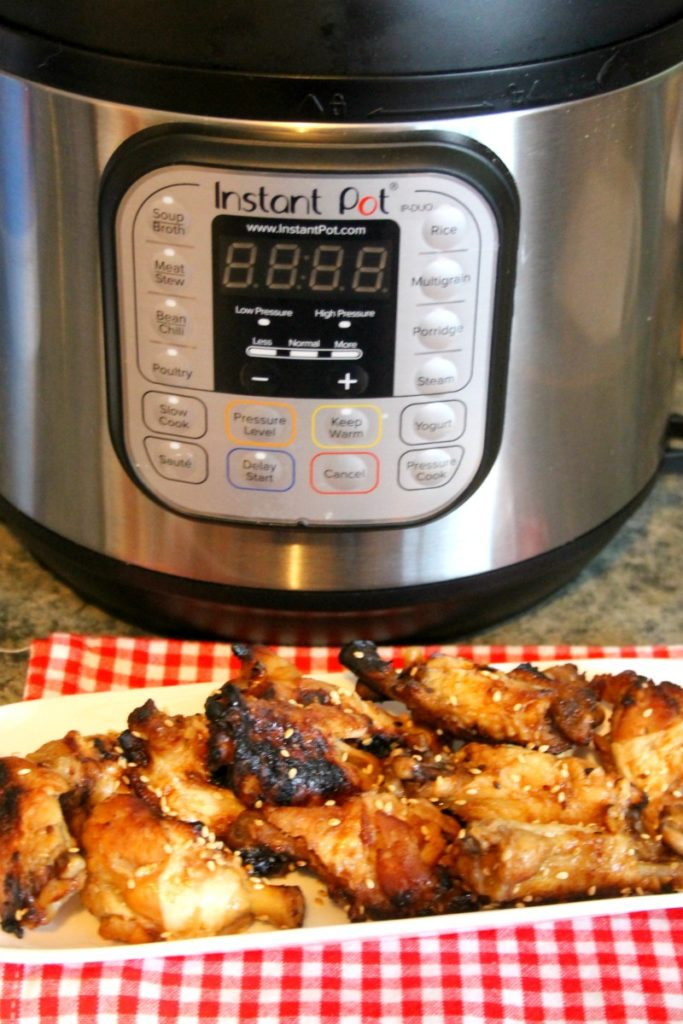 Instant Pot Asian Chicken Wings Recipe