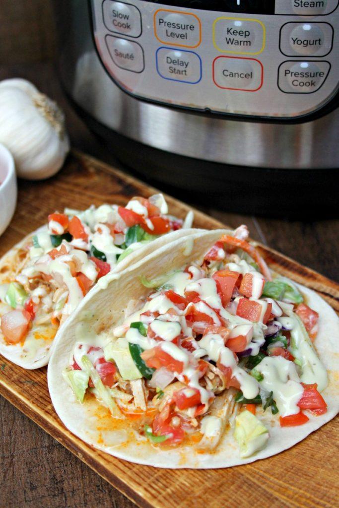 Instant Pot Shredded Chicken Breast Tacos Recipe 3