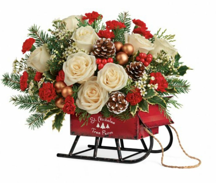 Top The Nice List This Christmas By Giving Teleflora Floral Arrangements 5