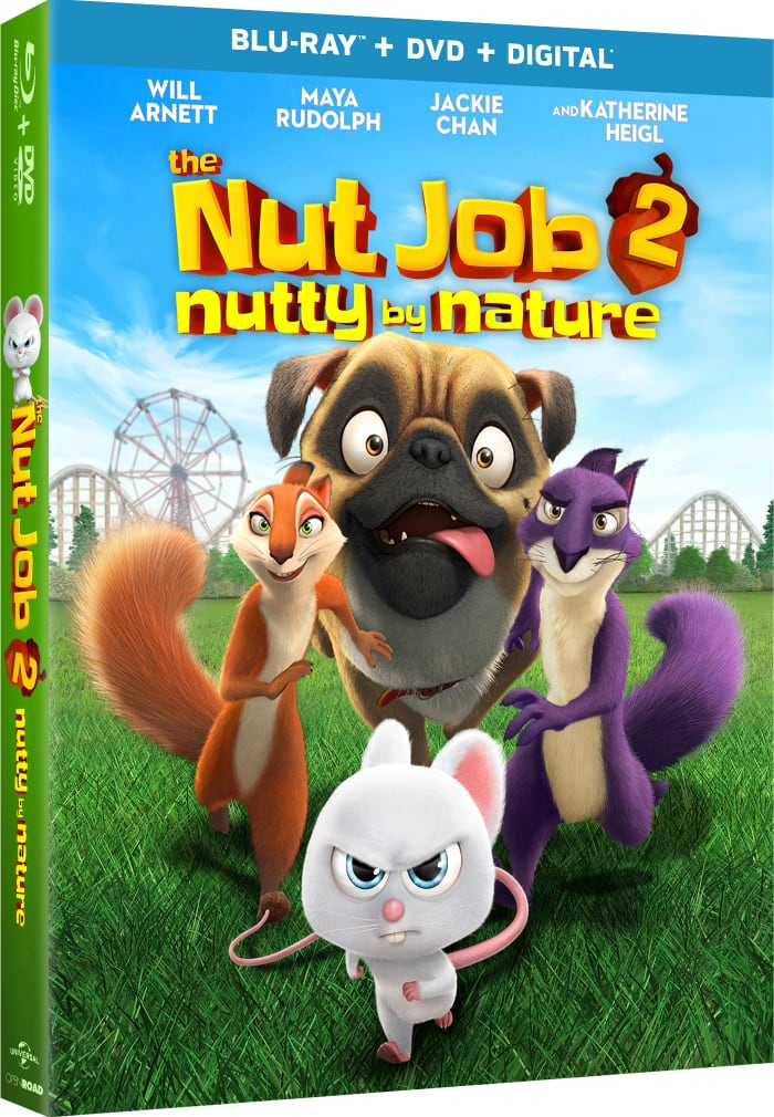 The Nut Job 2: Nutty by Nature Is Available On Blu-Ray And DVD Today