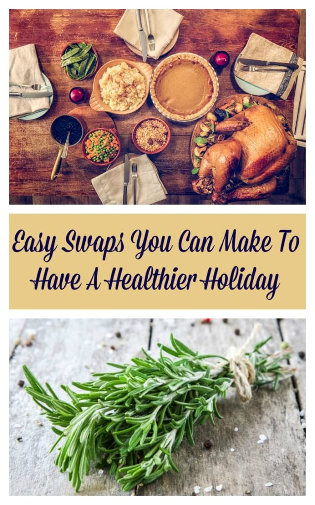 Most of us like to indulge during the holidays. I know I do! But in an effort to live a healthier lifestyle, I have found these easy swaps you can make to have a healthier holiday! #ad #4HFoodSmartFamilies #IC @national4h