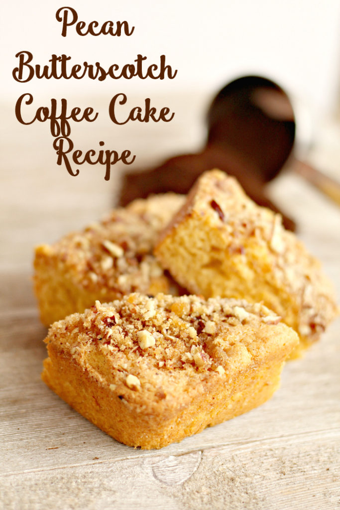 What's your family's tradition on #MothersDay? Do you serve mom pancakes or waffles? What about something a little different this year? This Butterscotch Pecan Coffee Cake #Recipe was a favorite of my mom and I bet it will be of yours too!