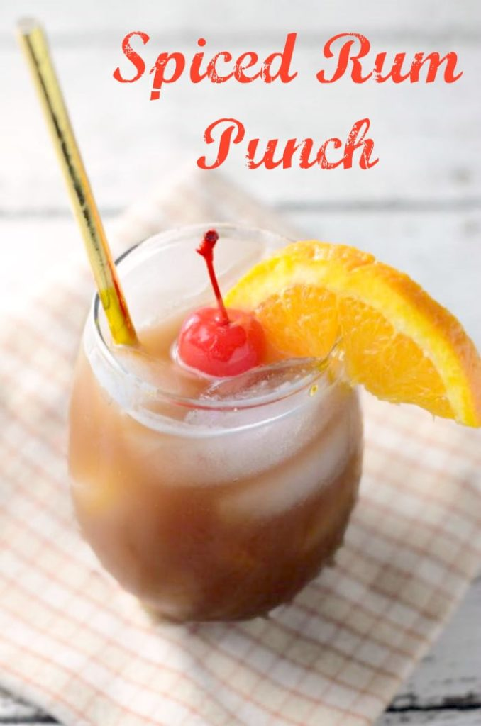 One of my favorite party cocktails is my Spiced Rum Punch Recipe. It's the perfect signature holiday drink! Omit the rum, add a bit of cinnamon and you have a mocktail the kids go crazy for it! I stock up on @7up from #walmart, saving me time AND money! #ad #BuyDrinkGive