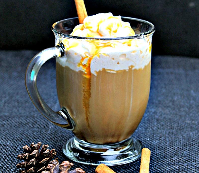White Chocolate Caramel Latte recipe 2