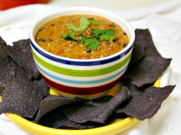 Spicy Mexican Beef and Cheese Dip 3