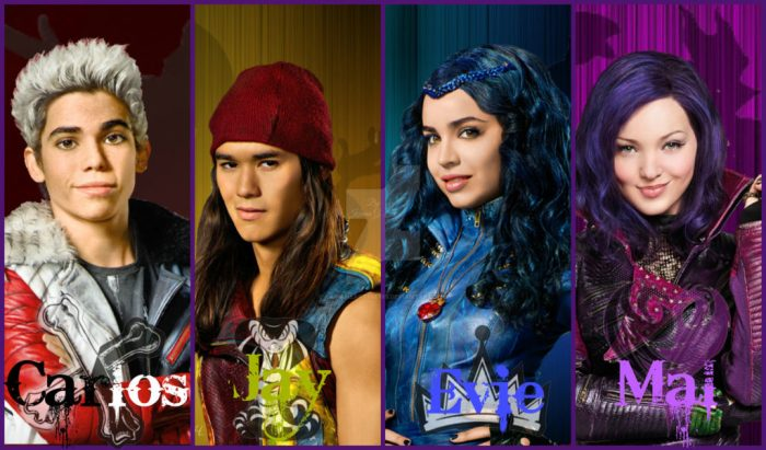 Descendants 2 Now On DVD cast