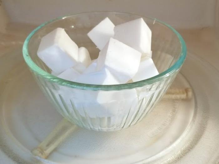 Rosemary And Vanilla Goats Milk Soap Recipe step3