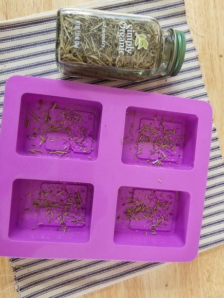 Rosemary And Vanilla Goats Milk Soap Recipe step7