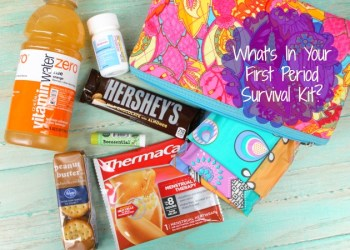 What You Need In A Kick Butt First Period Survival Kit