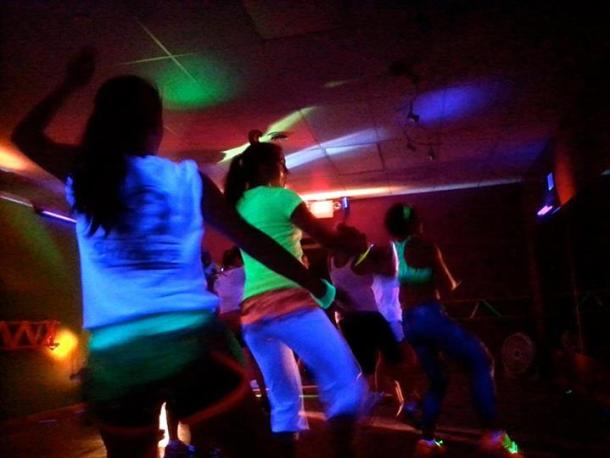 KIO Cosmic Zumba party