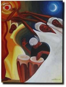 Day into Night by Bernard Hoyes