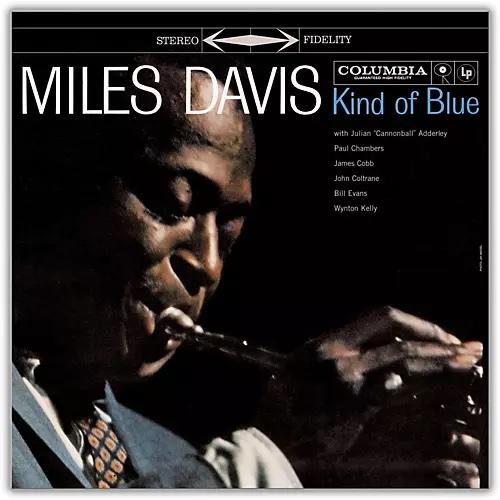 Miles Davis Kind Of Blue Cover