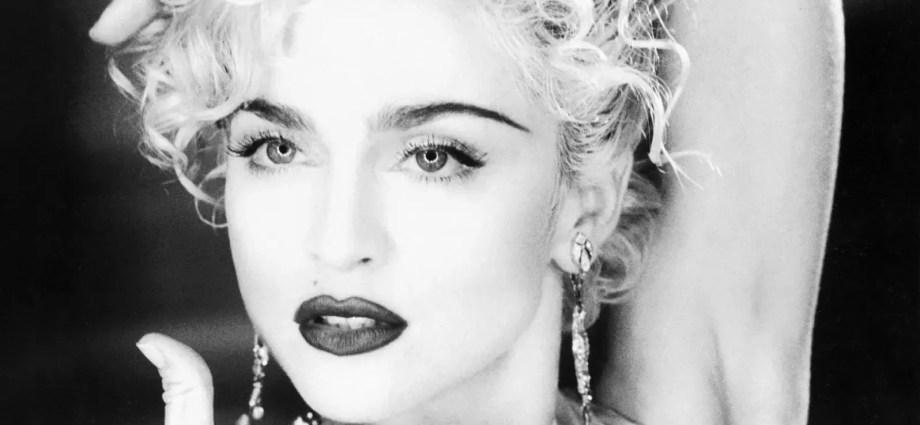 Madonna Vogue Video Still