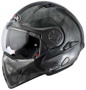 Airoh Casque de Moto Modulaire, Graphite, 59-60