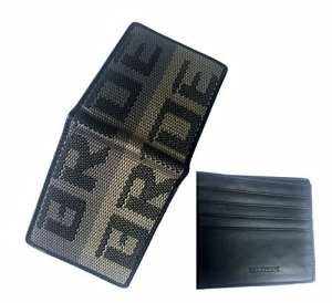 Bride bi-fold wallet JDM amazing gift for racing enthusiasts