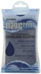 extérieur Grabber Grabber – Refroidissement magique fraîche de refroidissement Bandana-marine