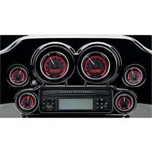 Gauge kit mvx-8k series black red – mvx-8600-kr-k – Dakota digital 22120571