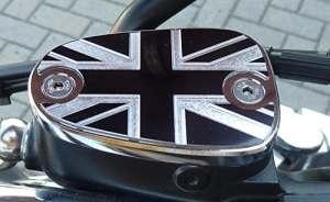 Liquide de frein couvercle pour Triumph Rocket Iii Classic Roadster (non Touring) Bonneville Thruxton ton Speed Master America Bonneville T120Thruxton ton T 120(non r) en aluminium
