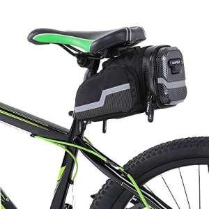 Lixada sacoche de selle vélo VTT Bicycle compartiments pour vélo équitation
