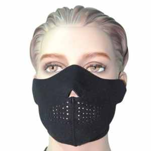 Masque Protection Demi Cagoule Neoprene «Black skull – Ghost Tete de mort» – Taille unique réglable – Airsoft – Paintball – Outdoor – Ski – Snow – Surf – Moto – Biker – Quad