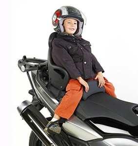Moto siège enfant Honda Forza 125 Givi S650 noir