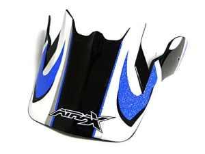 Visière casque moto cross ATRAX – Bleu