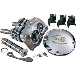 6-speed transmission gear set for xl and buell – 202 – Baker drivetrain DS326101