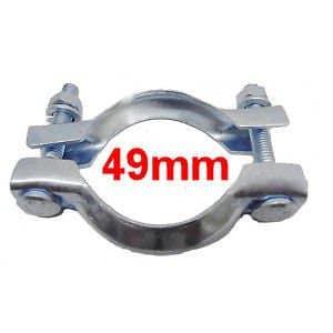Collier Echappement Diamètre 49mm CNP3 Serrage pot ou tuyau